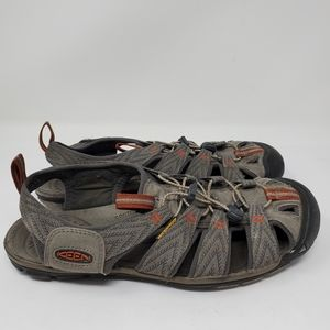 Keen Slip on laced hiking  Sandals  Size 10